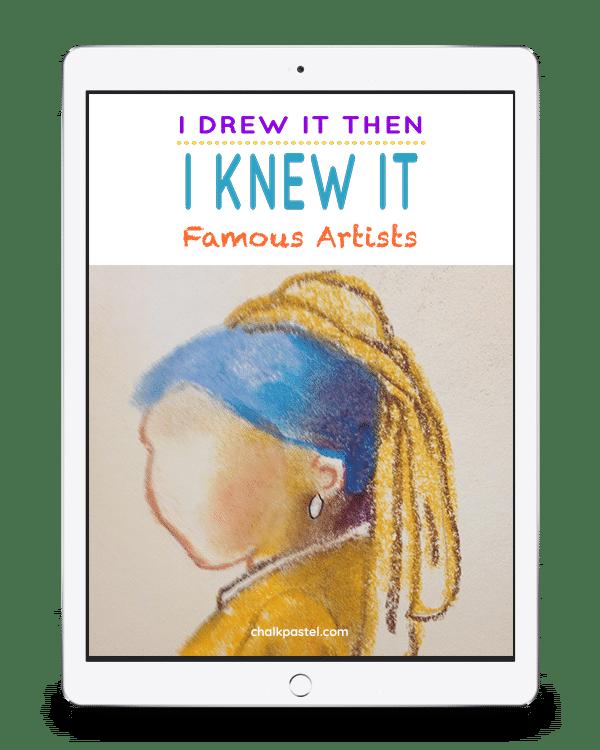 I Drew It Then I Knew It Famous Artists