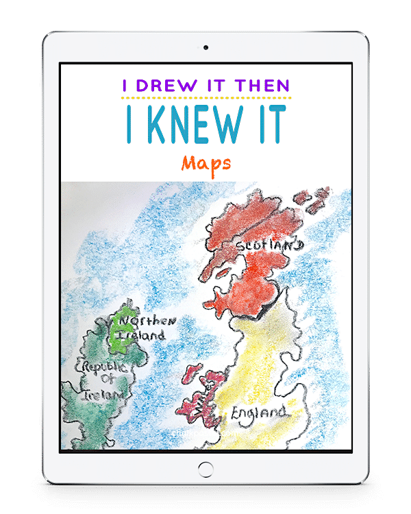 I Drew It Then I Knew It Maps