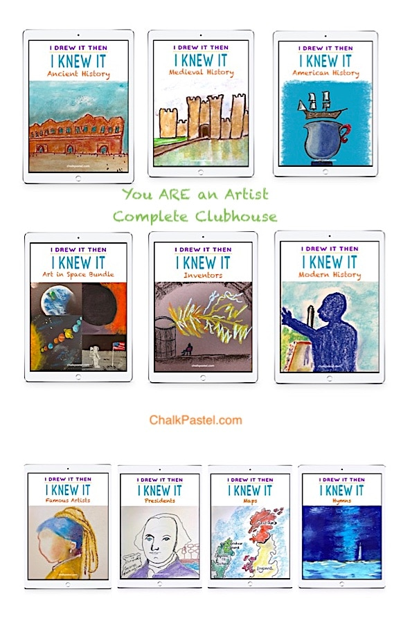 Complete Clubhouse Membership - You ARE an Artist!