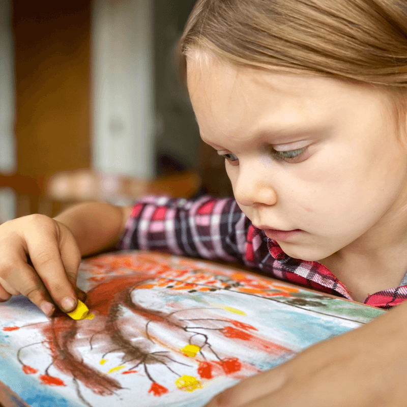 Are you looking for meaningful connections with your child? Did you know that art is a wonderful way to help strengthen your relationship?