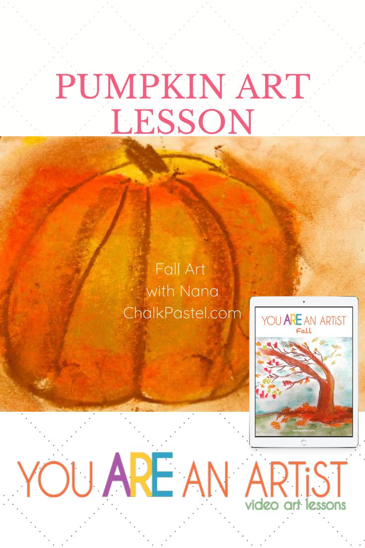 Pumpkin Fall Homeschool Art Lessons