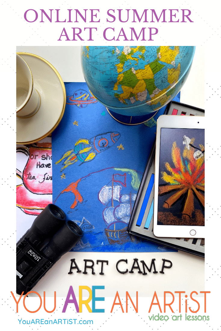 Online Summer Art Camp