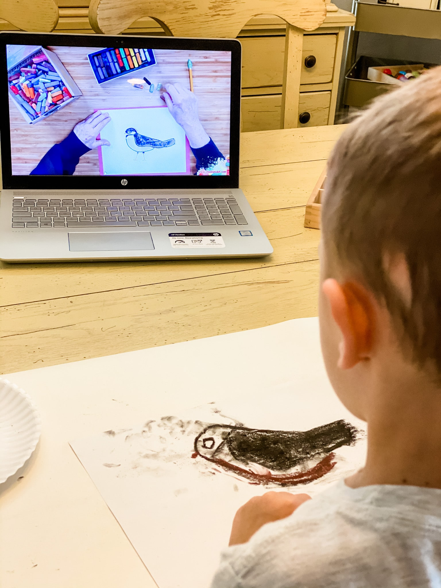 Use themes along with art to drive a lesson home. Research tells us that children are more likely to remember a lesson when a hands-on activity is included. With I Drew It And I Knew It, you can pair up a homeschool history lesson, for example, and make it so much more exciting.