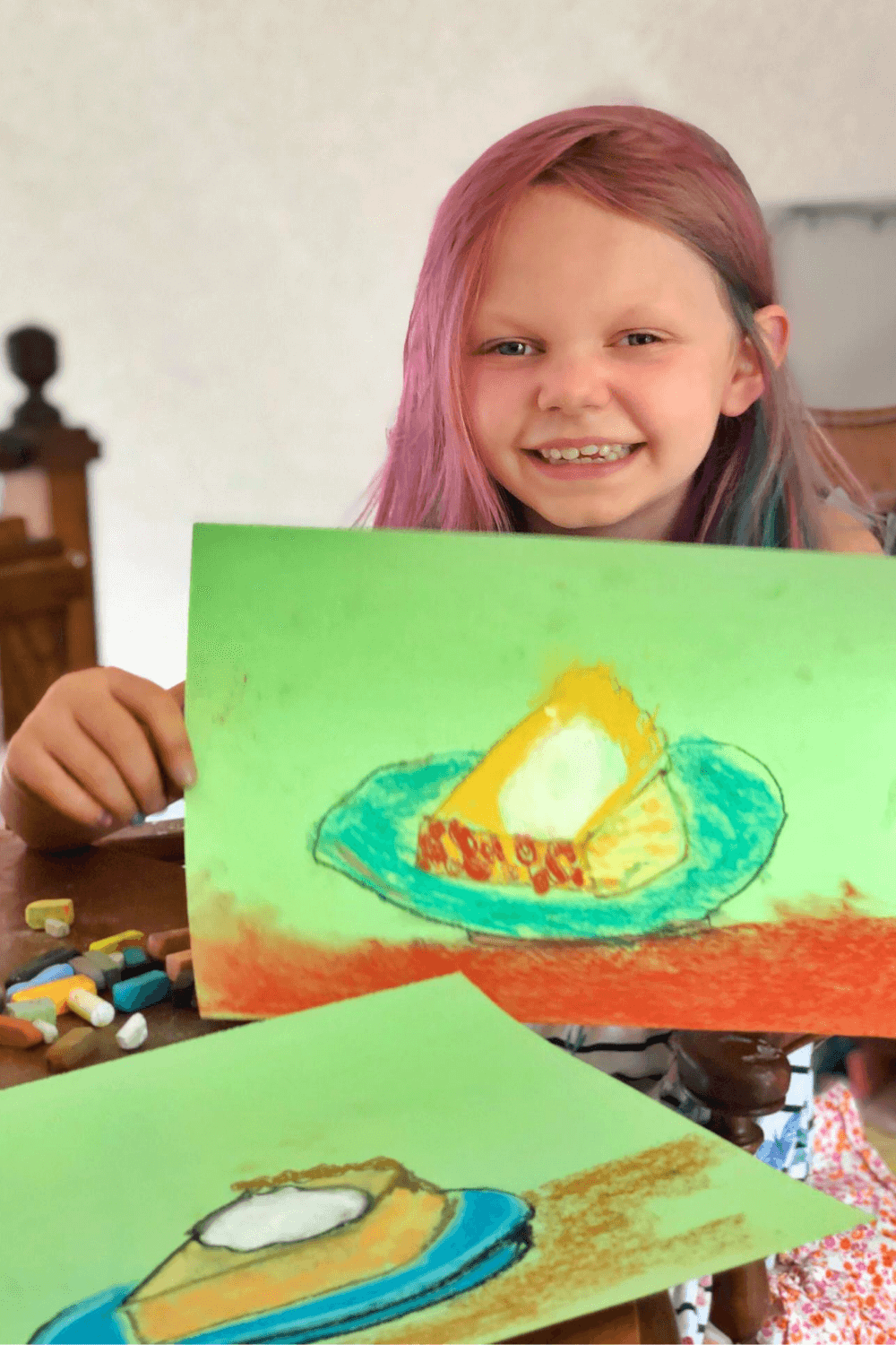 Fall Art and One-On-One Time with Kids