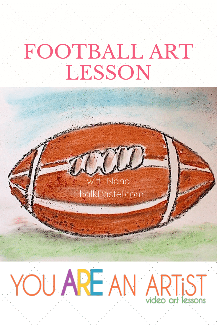 In celebration of your favorite team, enjoy this football video art lesson with Nana! You ARE an ARTiST!