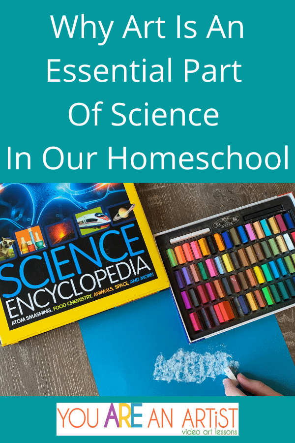 Here is Why Art Is An Essential Part Of Science in Our Homeschool. I can't imagine a better way to learn science in our homeschool. This approach has made all the difference in helping my child engage in what we are learning and retain it as well. By Shawna Wingert