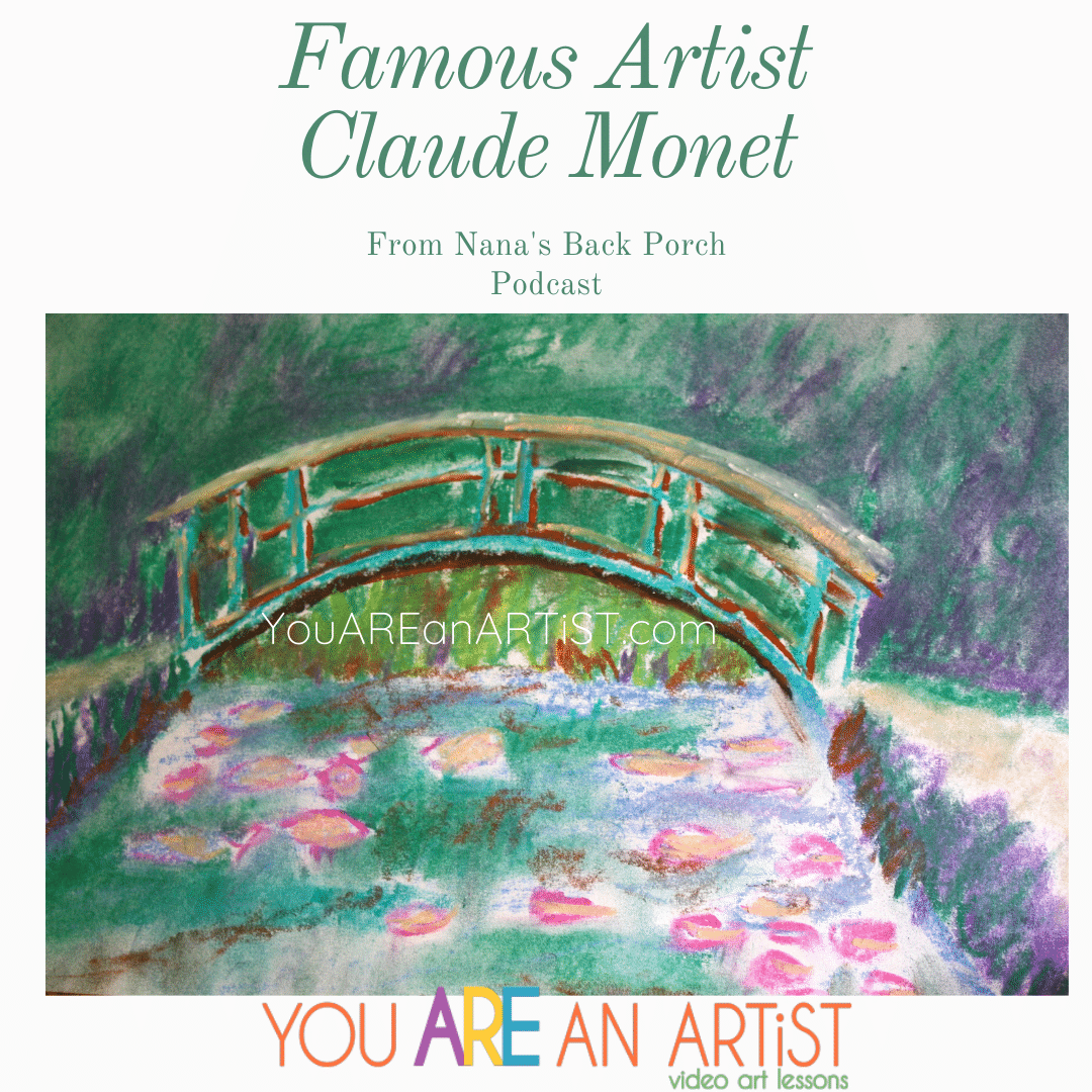 Happy Birthday, Claude Monet! Before you go for ice cream and cake in honor of Monsieur Monet on November 14th, let's delve deeper into his life and how his insistence of making art HIS way has influenced artists for almost a century! He has changed the art world, and almost like the Beatles changed music forever...Monet has graciously, softly, and beautifully colored our lives with his impression of what we couldn't see before! Enjoy Famous Artist Claude Monet.