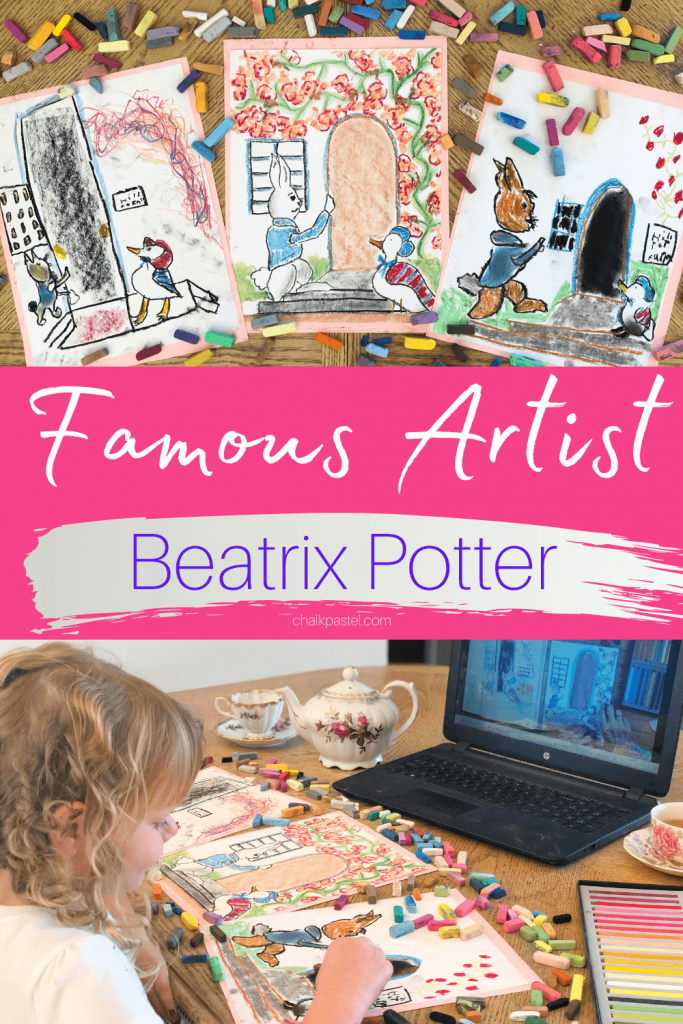 Famous Artist Beatrix Potter, born on the 28th of July, 1866, is one of the world's best-selling and most-loved children's authors. She wrote and illustrated close to 30 children's books. Those books star Peter Rabbit, Jemima Puddle-Duck and Benjamin Bunny. Her books have been translated into more than 35 languages and have sold more than 100 million copies! Beatrix Potter...SHE was REALLY an artist!