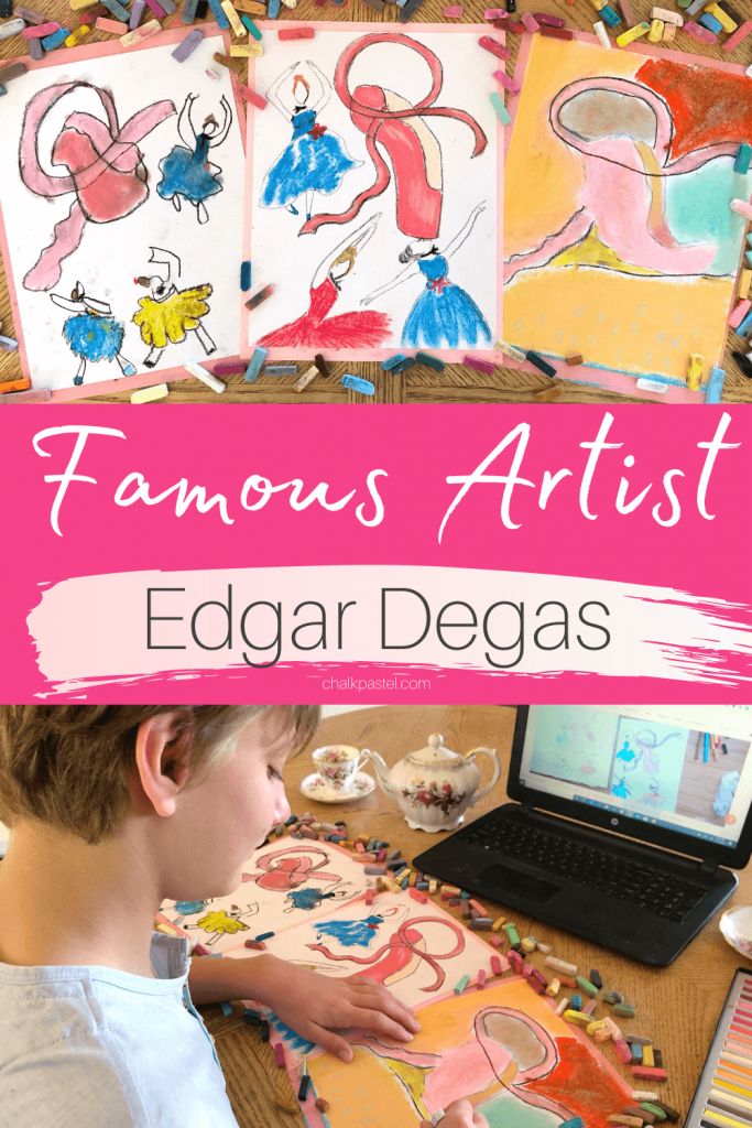 Famous Artist Edgar Degas successfully combined painting and drawing when he was working with his brilliant colored pastels! From Nana's Back Porch Podcast.
