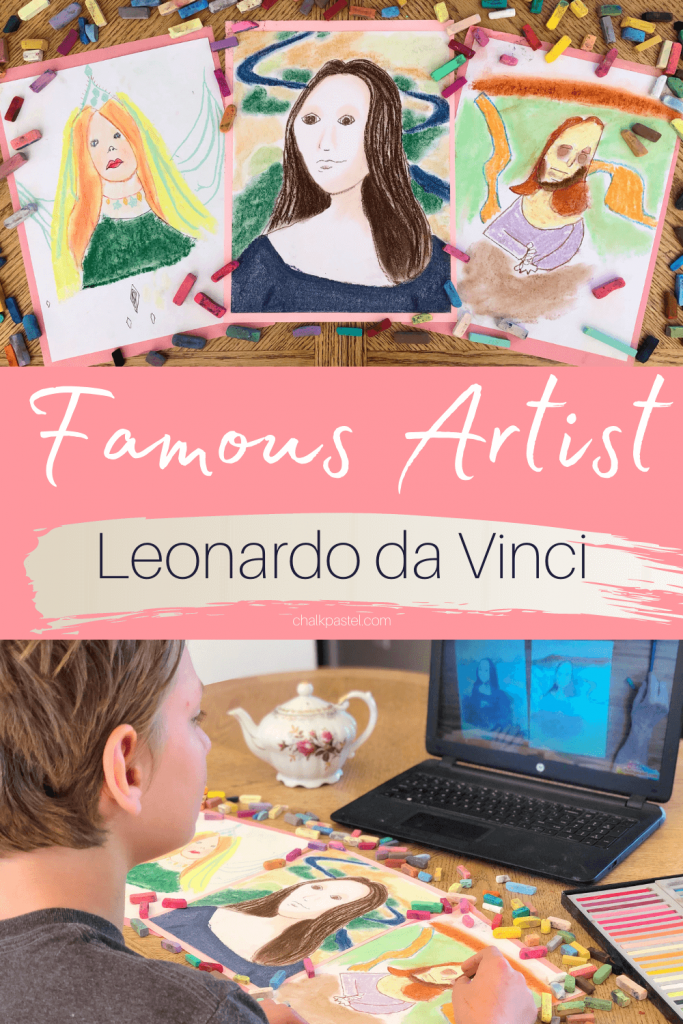 Famous Artist Leonardo da Vinci podcast from Nana's Back Porch. Let's go follow this man reputed to be the genius of his generation.