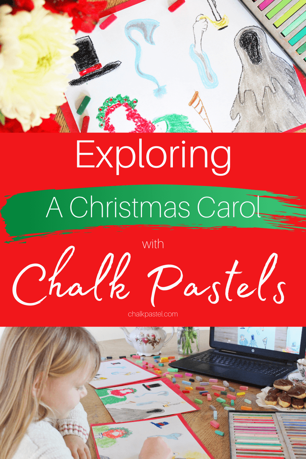 Exploring A Christmas Carol with Chalk Pastels: Exploring A Christmas Carol with chalk pastels is an easy and fun way to combine the rich literature of Charles Dickens, the excitement of cinema, and the glory of art this Christmas season! #AChristmasCarol #CharlesDickens #AChristmasCarolActivities #AChristmasCarolActivitiesforkids #Chalkpastels #ExploringAChristmasCarolwithChalkPastels
