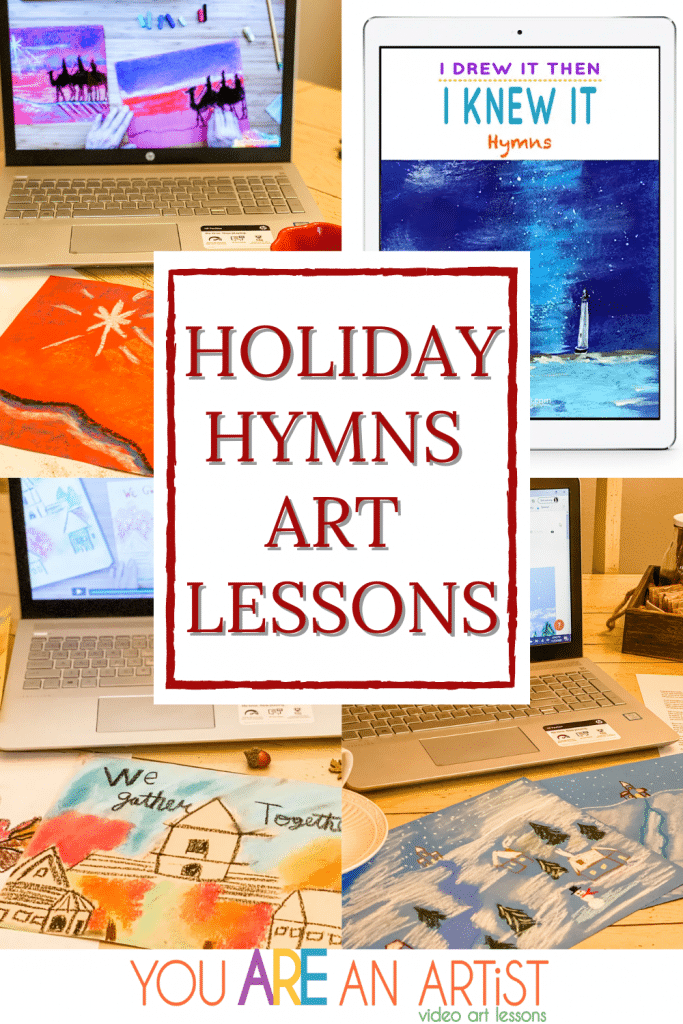 More ways to celebrate the holidays in your homeschool with hymn studies.