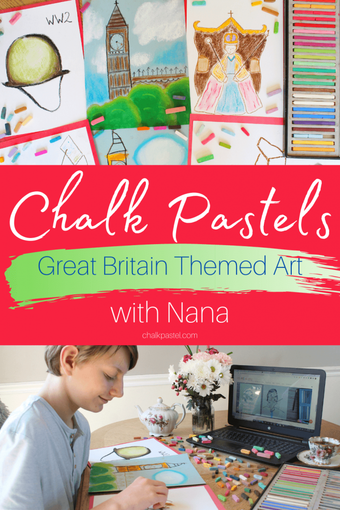 Don't miss this fabulous Great Britain Themed Art which includes Churchill, Queen Elizabeth II, Big Ben, a map of the British Isles, WWII helmet and more!