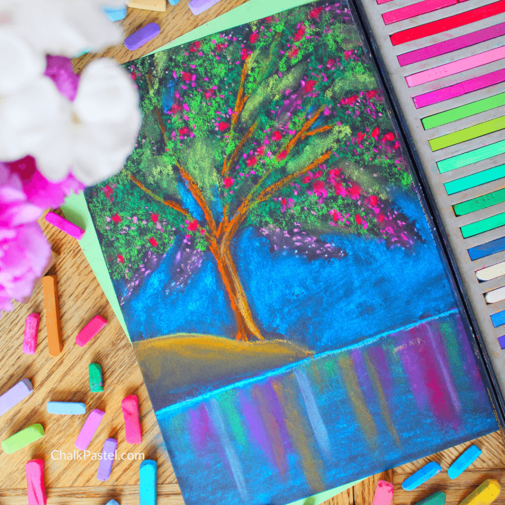 Mini Moments for Mom with Chalk Pastels