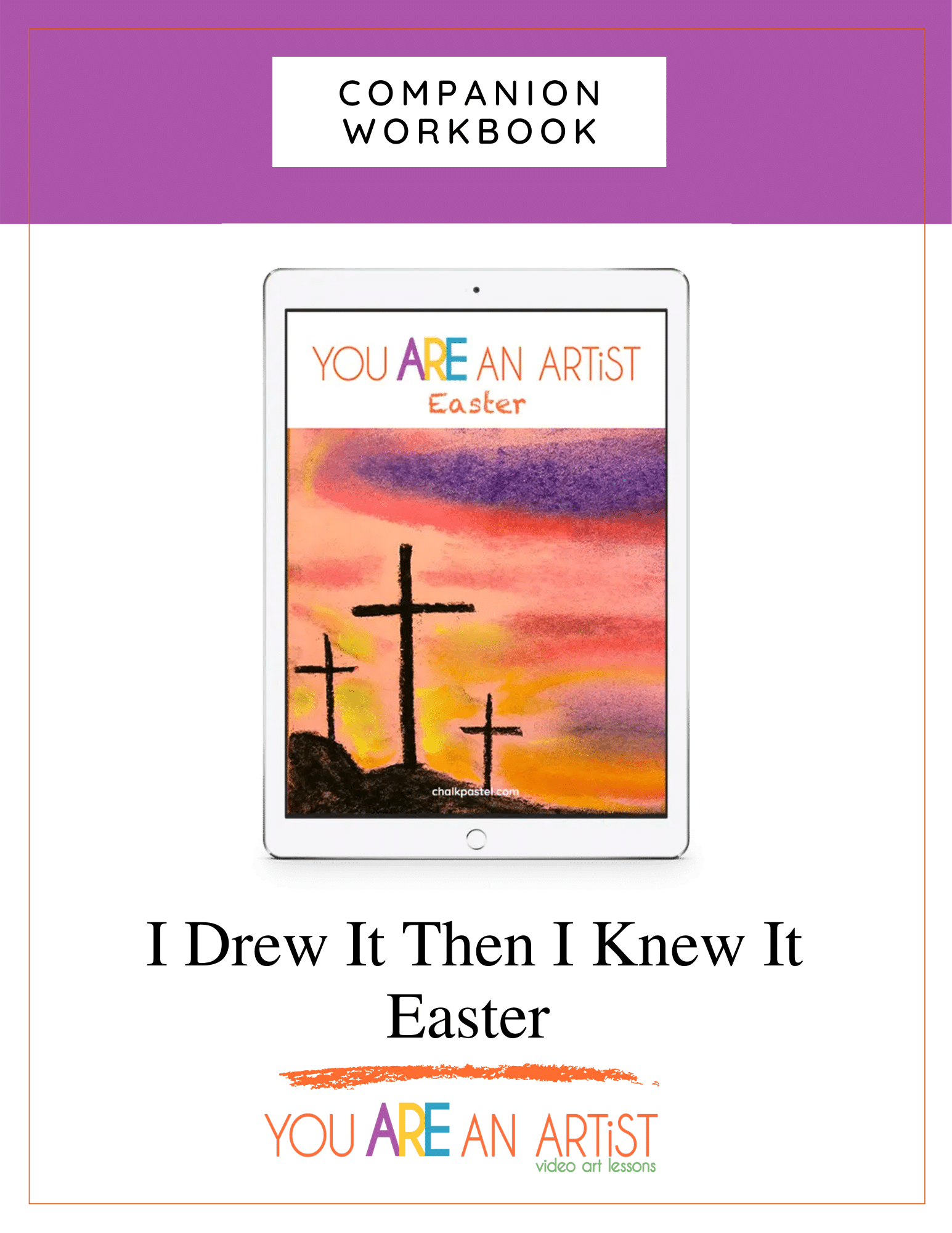 IDITIKI Easter Workbook Cover