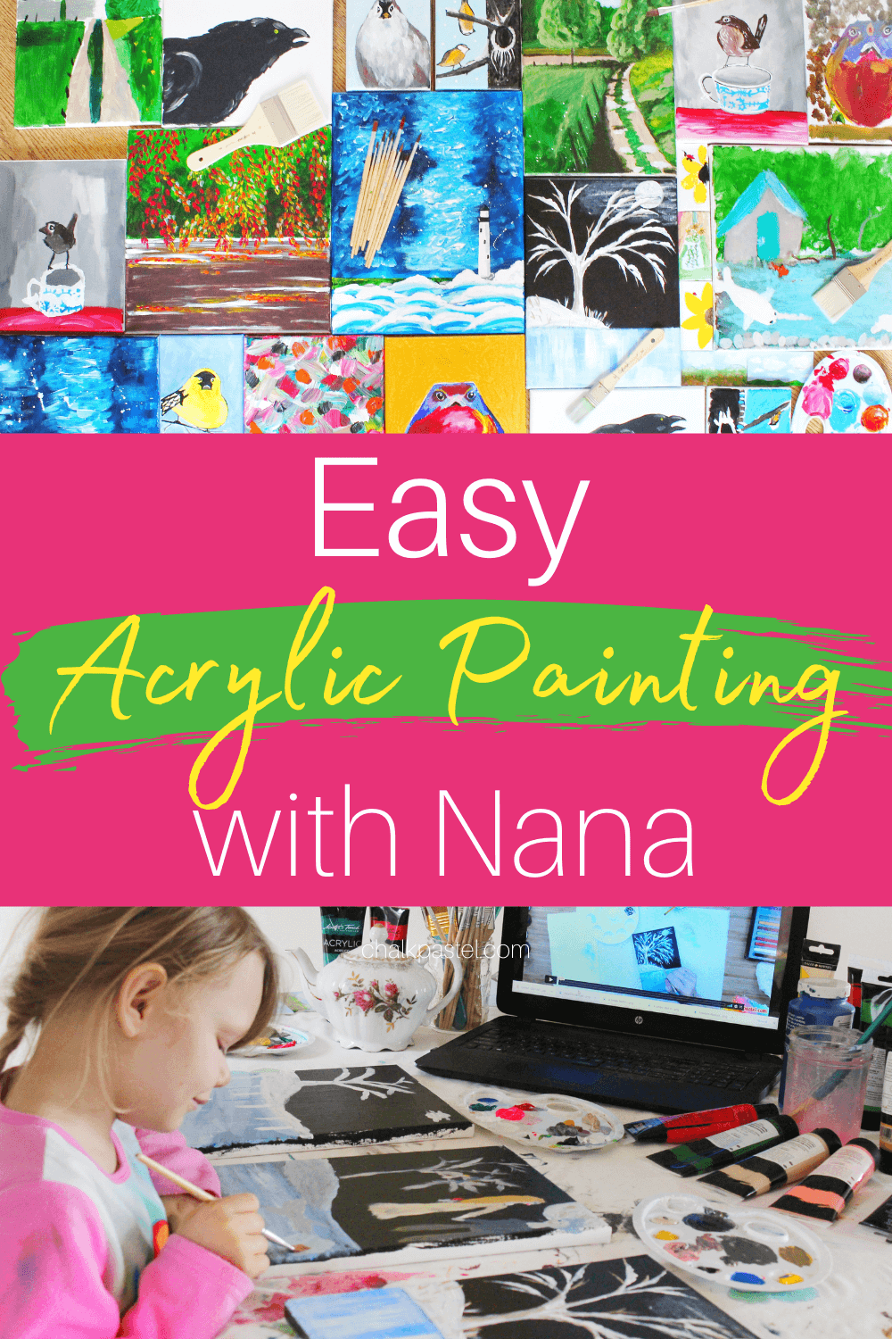Acrylic Painting Ideas Archives You Are An Artist