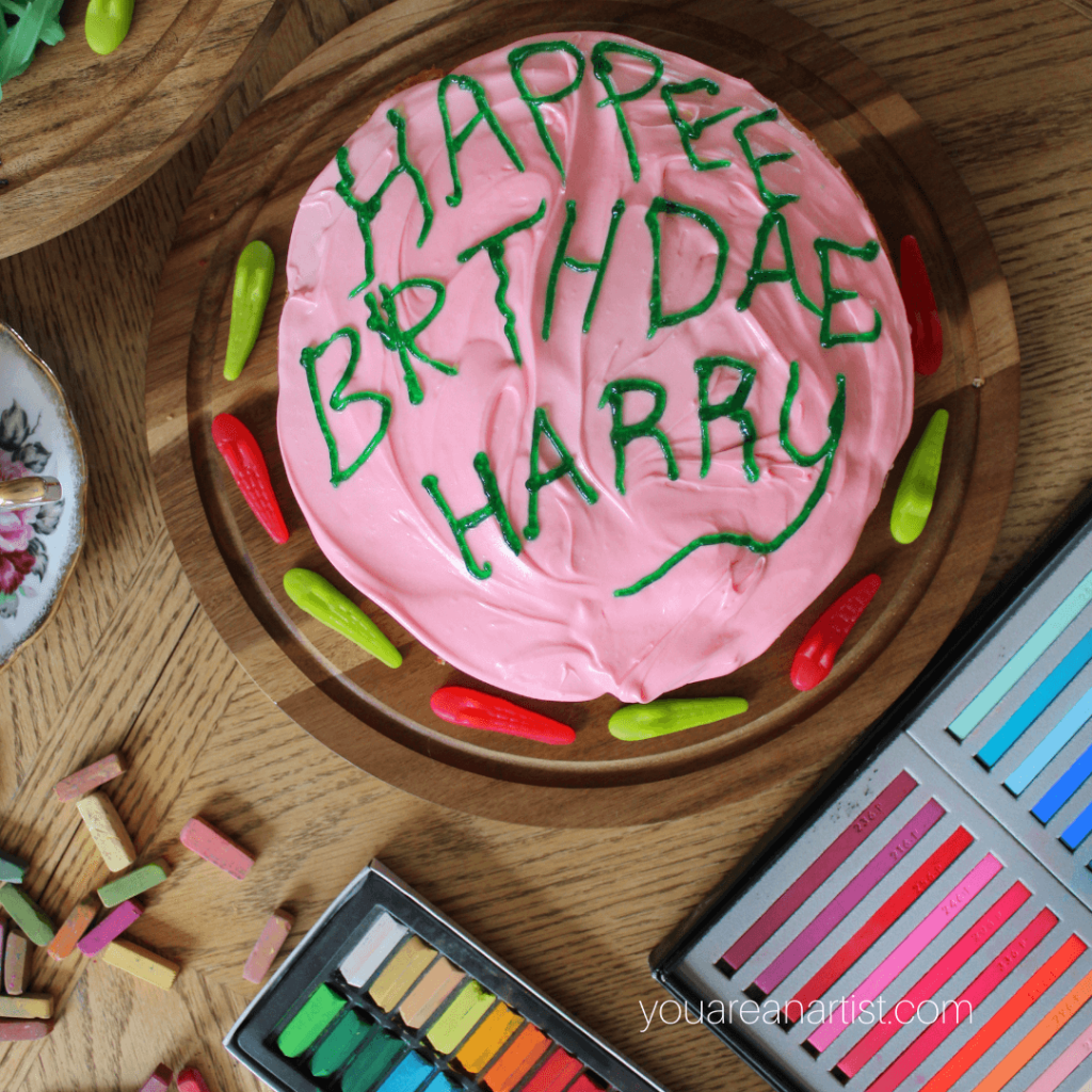 Fun Harry Potter Chalk Pastel Teatime