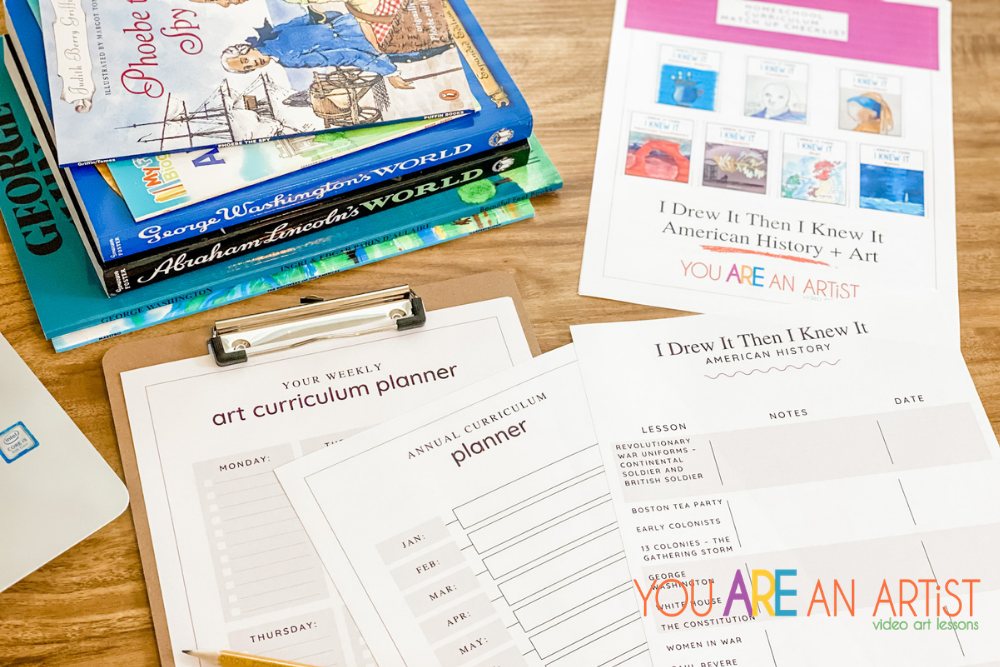Add Art to Your Homeschool