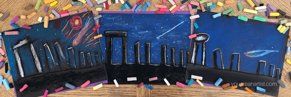Travel the World with Chalk Pastels