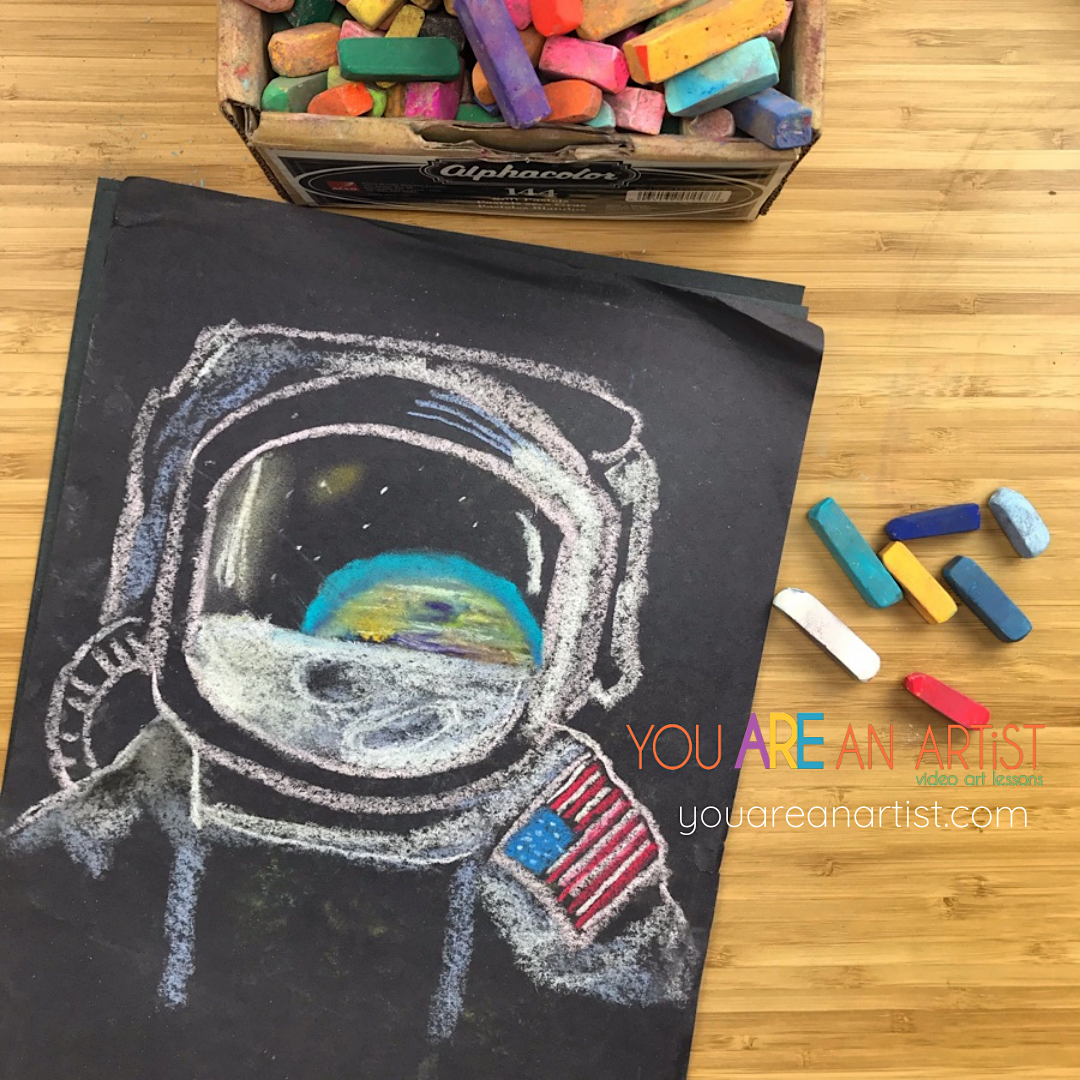 Here is everything you need to create a moon missions unit study that will blast off! Includes art, books, and even snacks for learning.