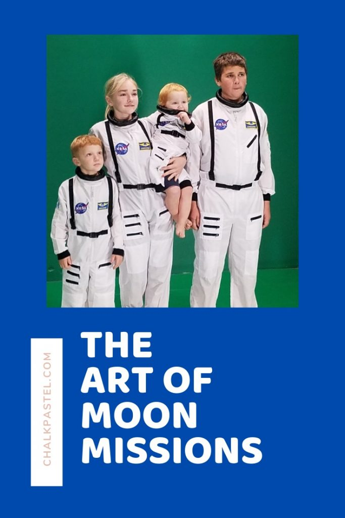 This comprehensive list has everything you need for your homeschool moon missions study. Includes art, books, and even snacks for learning.