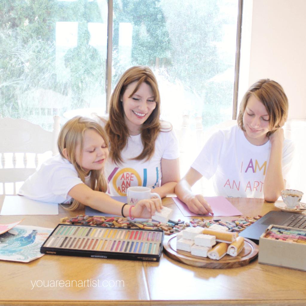 Homeschool Art for the Delight-Directed Family