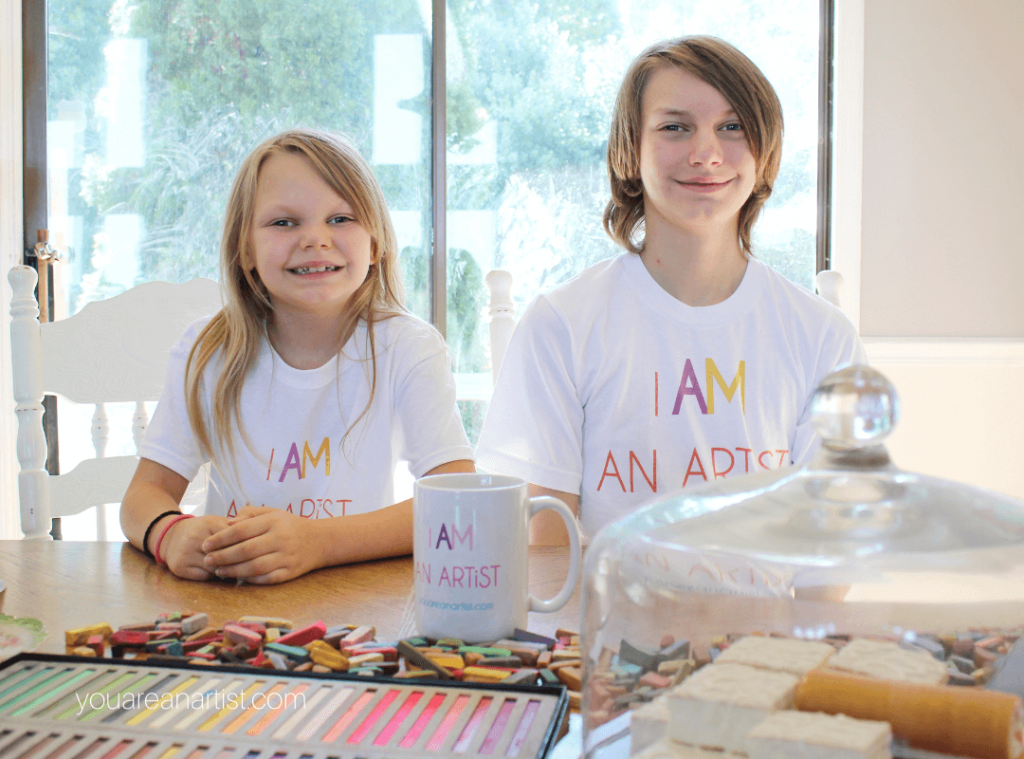 You ARE an ARTiST t-shirts and mugs