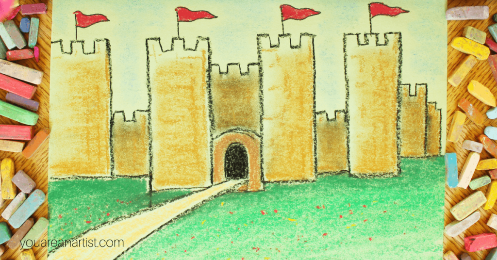 From Robin Hood, castles and knights to the crusades, dragons, vikings, court dress, inventors and more –Nana's medieval history art lessons are a fun match to your middle ages studies: