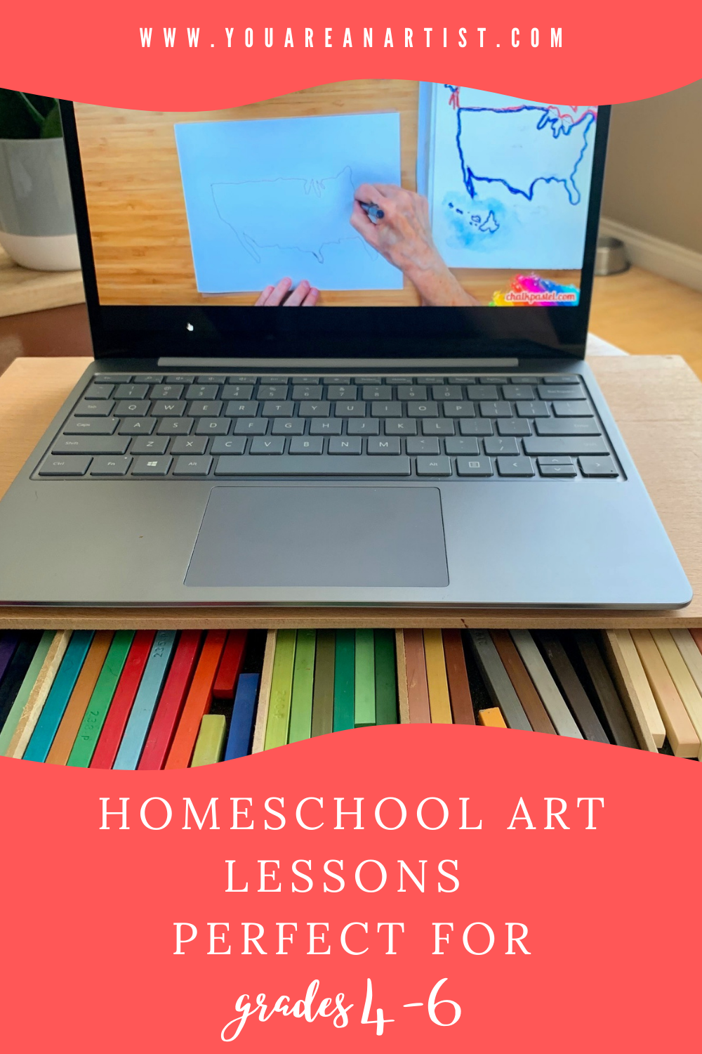 As our children get older, finding homeschool art lessons that are challenging and age appropriate can be difficult. Thankfully, we have found an assortment of unit studies and art lessons that are perfect for the late elementary grades 4-6.