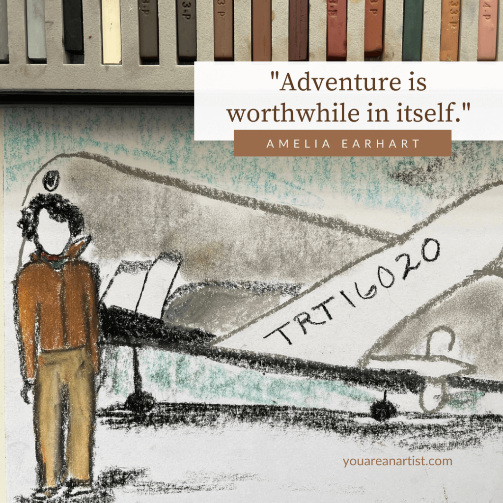 Enjoy Nana's Amelia Earhart lesson as part of your Modern History homeschool studies. The Best Art Lessons for Your Homeschool History Curriculum