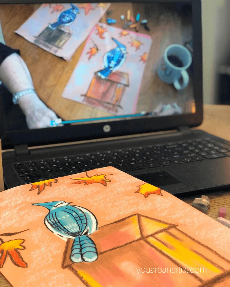 Fall Hygge Homeschool Art Lessons