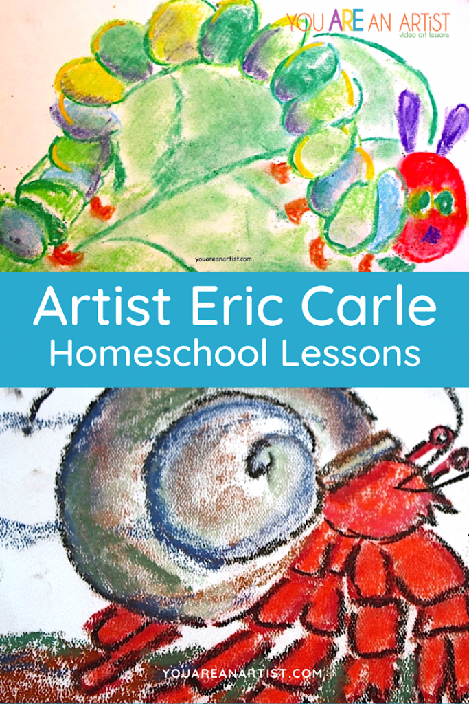 An Eric Carle homeschool study! Eric Carle is acclaimed and beloved as the creator of brilliantly illustrated picture books for very young children.