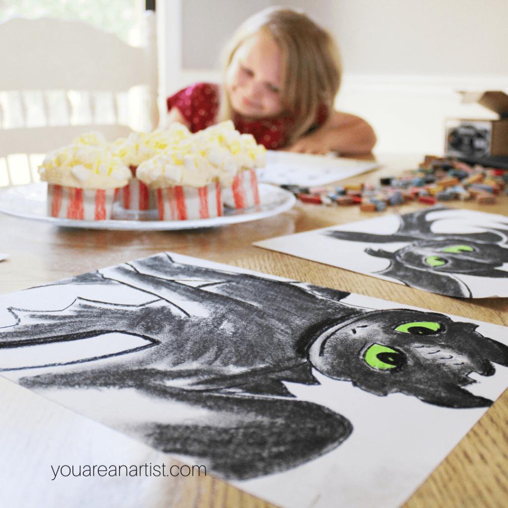 Favorite Movies Homeschool Art Lessons