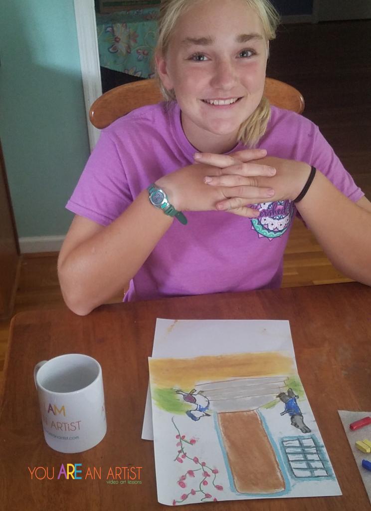 Art and Charlotte Mason Homeschooling