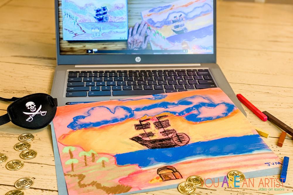 Talk Like A Pirate Day Homeschool Art