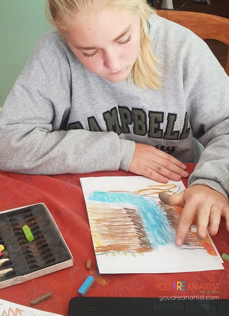 Thanksgiving hymn favorites with art lessons!