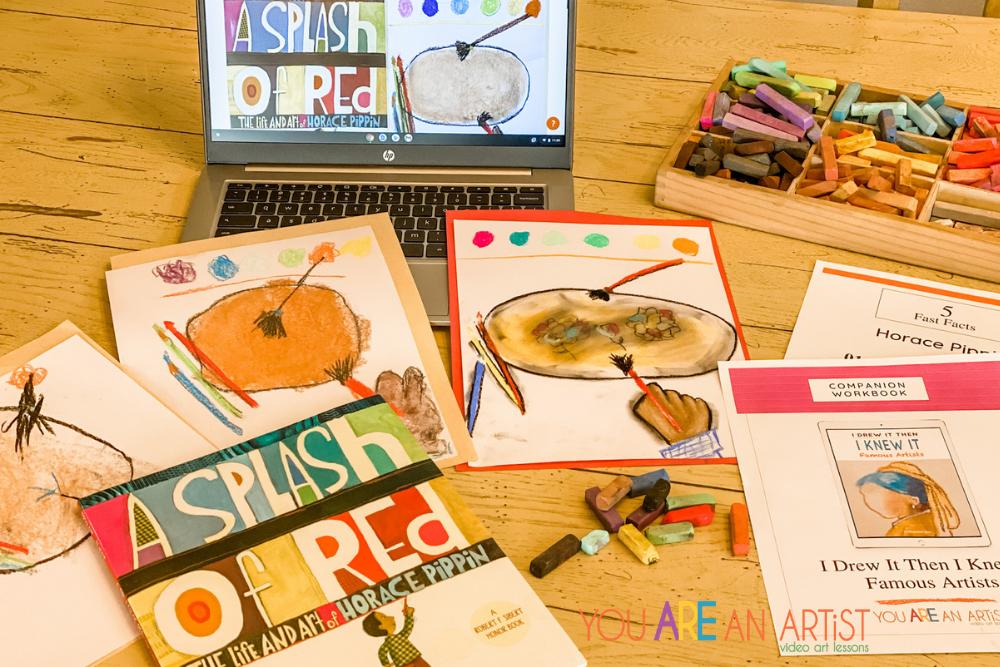 Horace Pippin Homeschool Art Lesson