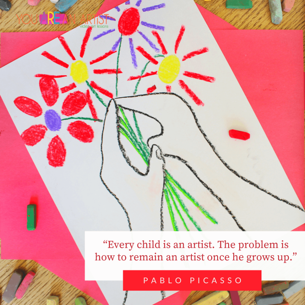 Famous Artist Pablo Picasso Homeschool Study